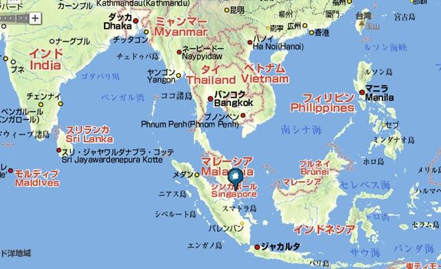 東南アジアに位置します ...
